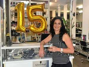Mackay salon's remarkable 15 year business journey