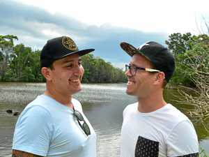 Gay couple want to tie the knot at popular Qld beach