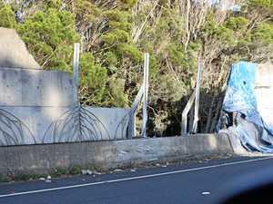 Lanes closed after highway crash