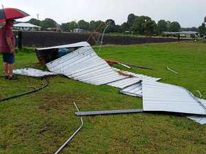 Damaging storm rips through Southern Downs sport club