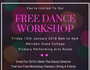 Free Dance Workshop on Friday the 12th of January 2018 from 8am to 5pm, in Meridan Plains. Register by emailing  impulseperformingarts@hotmail.com
