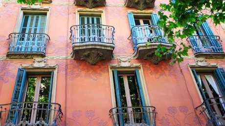Apartments along the Rambla del Poblenou, the district's hub. Picture: iStock
