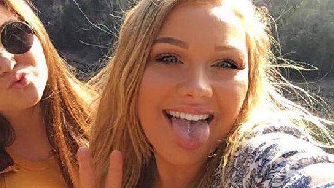 Cops fear missing Pennsylvania teenager Corinna Slusser has been kidnapped by a sex trafficking ring. Picture: Facebook