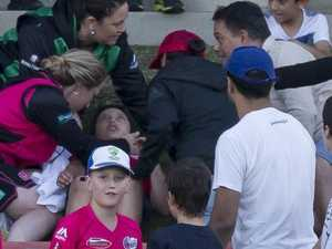 Perry concern for injured boy in the crowd