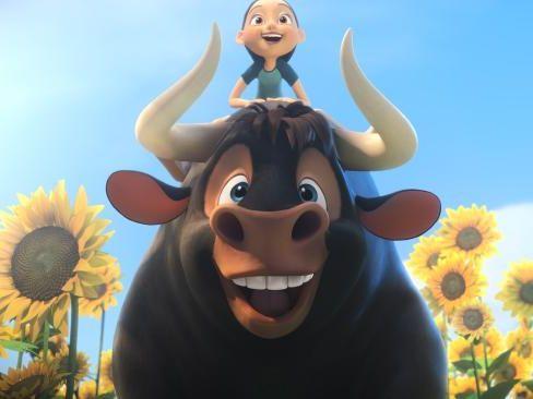 John Cena stars as the voice of Ferdinand the bull.