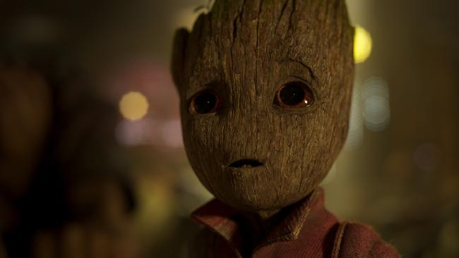 Guardians character Groot (voiced by Vin Diesel)