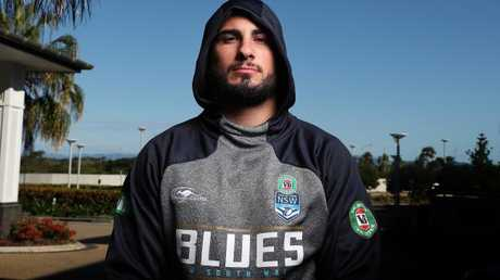 Jack Bird hopes to continue his NSW State of Origin career. Picture: Brett Costello