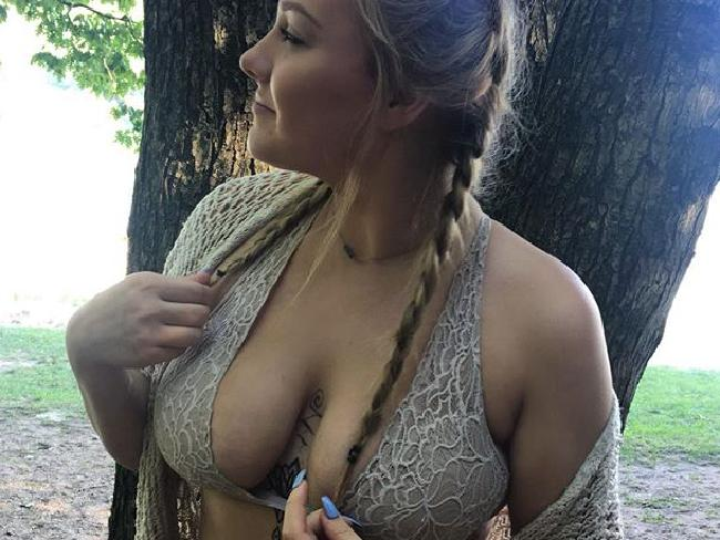 Corinna Slusser's Instagram posts became increasingly racy after she moved to New York, her family says. Picture: Instagram