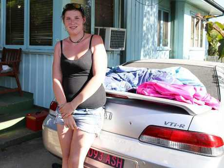 Ashleigh cares for her mother who is on a disability pension. Picture: Matrix for news.com.au