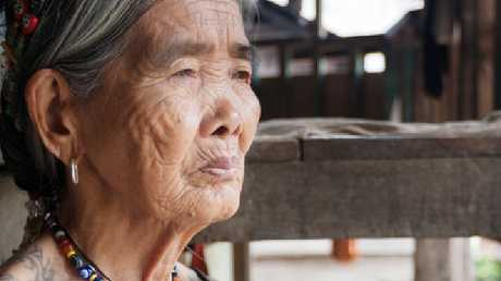 Whang-od is highly sought after for her traditional tattoos.