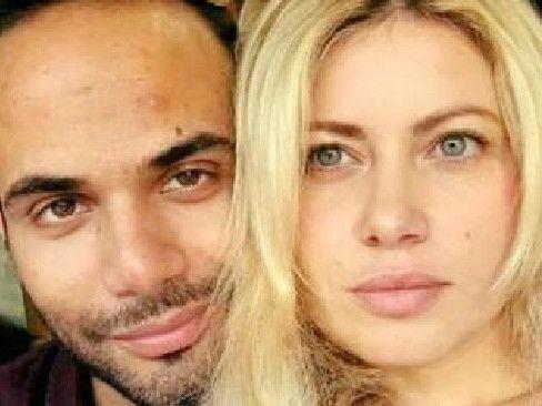 Trump campaign adviser George Papadopoulos and fiancee Simona Mangiante. Picture: Facebook