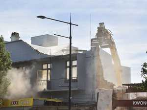 Iconic hotel demolished