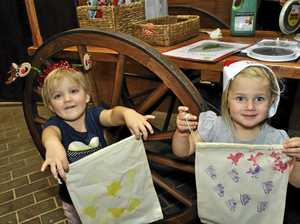GALLERY: Children get crafty at museum Christmas party
