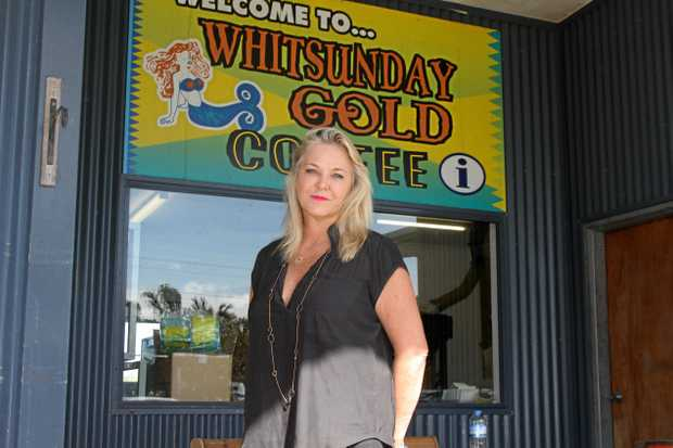 REOPENING: Owner of Whitsunday Gold Coffee, Nikki Phillips.