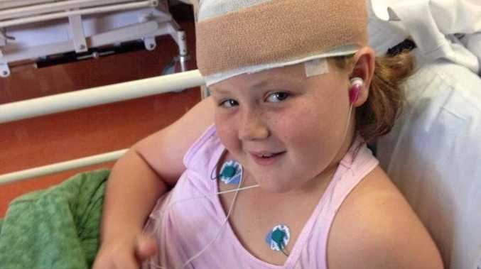 RARE: For seven years Becca Battye's illness has remained a mystery.