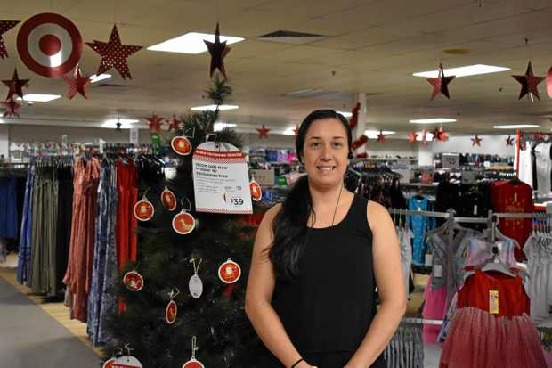 Gympie Target Store Manager Jo Medley at the Sensory Shopping experience on Sunday.