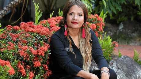Indigenous tour leader Cherissma Blackman