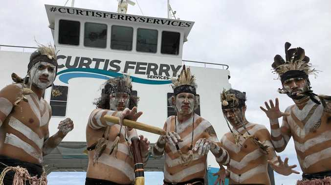 Curtis Ferries is collaborating with the Port Curtis Indigenous community to offer cultural heritage tours around the stories of the Great Barrier Reef