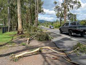Beerwah storm damage
