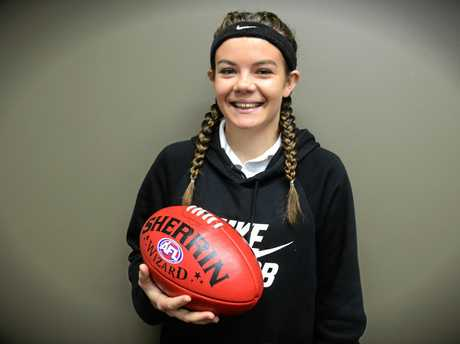 Grafton Tigers junior Jordan Speechley will step up into the AFL North Coast womens team to play against Ballina Bombers today.