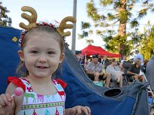 Christmas spirit at Carols in the Park in Warwick