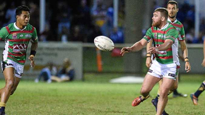 NEW FUTURE: Damien Otto, pictured playing for Hervey Bay Seagulls earlier this year, will join Isis Devils for the 2018 Bundaberg Rugby League season.