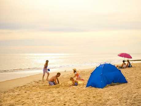 Port Noarlunga the perfect family beach. Picture: Adam Bruzzone/SATC
