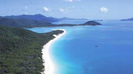 There's a reason Whitehaven beach consistently tops the list. Picture: Queensland Tourism