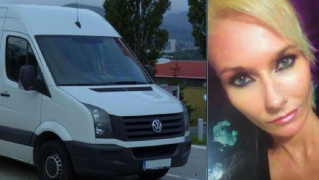 It is believed Cherie Coutts is travelling in a white van. Picture: Supplied
