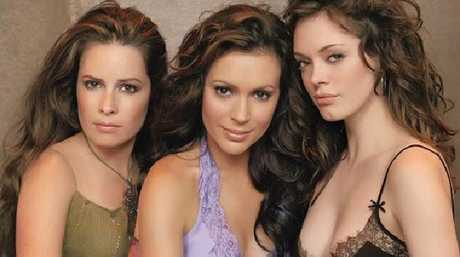 Holly Marie Combs, Alyssa Milano and Rose McGowan played sisters on Charmed. Picture: Supplied
