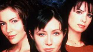 Alyssa Milano, Shannen Doherty and Holly Marie Combs in Charmed. Picture: Supplied