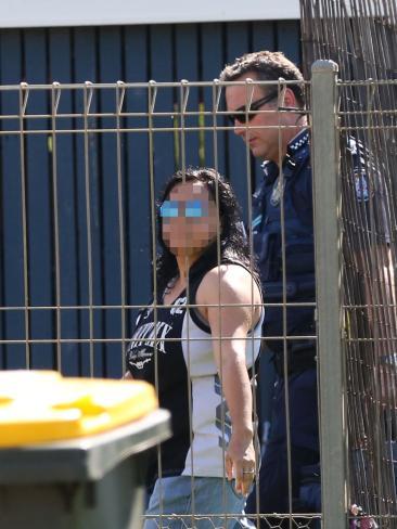 Police raids in St George in regional Queensland.