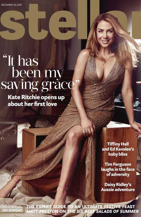 Kate Ritchie stuns on the cover of Stellar. Photographer: Steven Chee for Stellar