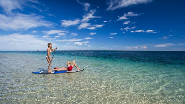 The stunning beaches of Coral Bay in WA. Picture: David Kirkland/Coral Coast