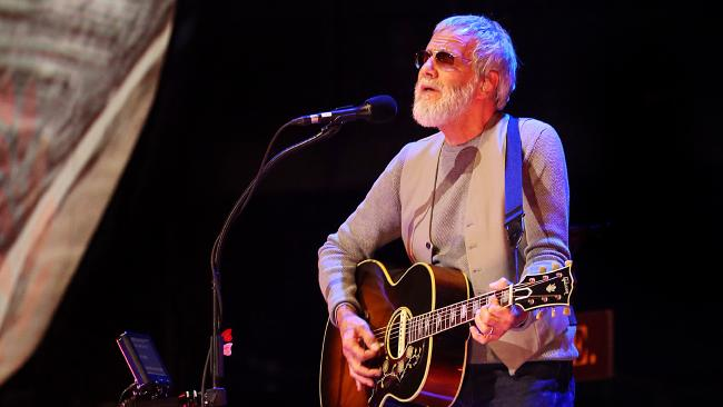 Yusuf / Cat Stevens treated the Brisbane audience to a set crammed with timeless hits, in a show that was peppered with insightful and endearing anecdotes about his life and career. Picture: Ian Currie
