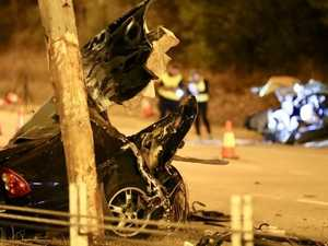 Car split in two as man killed after police pursuit