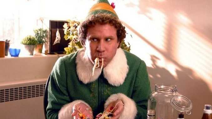 Will Ferrell as Buddy in Elf.
