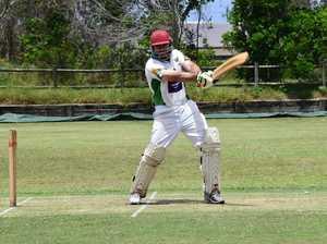Lennox Head batsman Adam Fisher against Cudgen in FNC