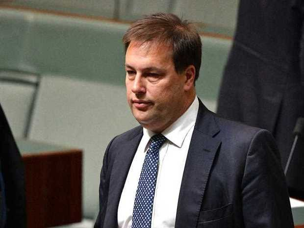 Liberal Member for Mackellar Jason Falinski in the House of Representatives at Parliament House in Canberra, Wednesday, December 6, 2017.