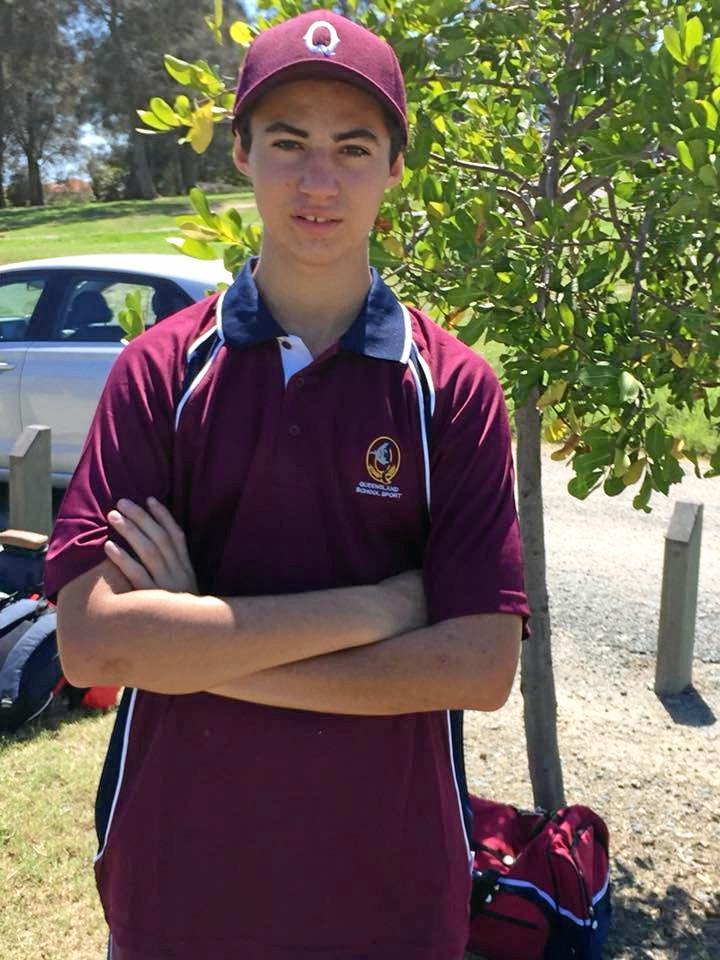 Nick Noonan - gold in softball