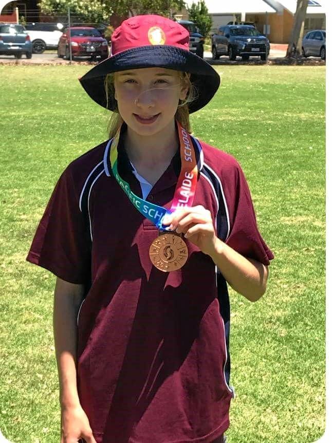 Erin Harvey - bronze in soccer