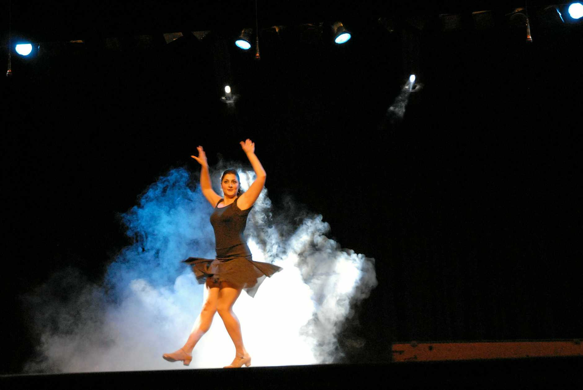 Director and instructor of tap, jazz and contemporary at La Danza (L.A.D.) Studio, Desiree McGann danced at her first concert at Maryborough City Hall.