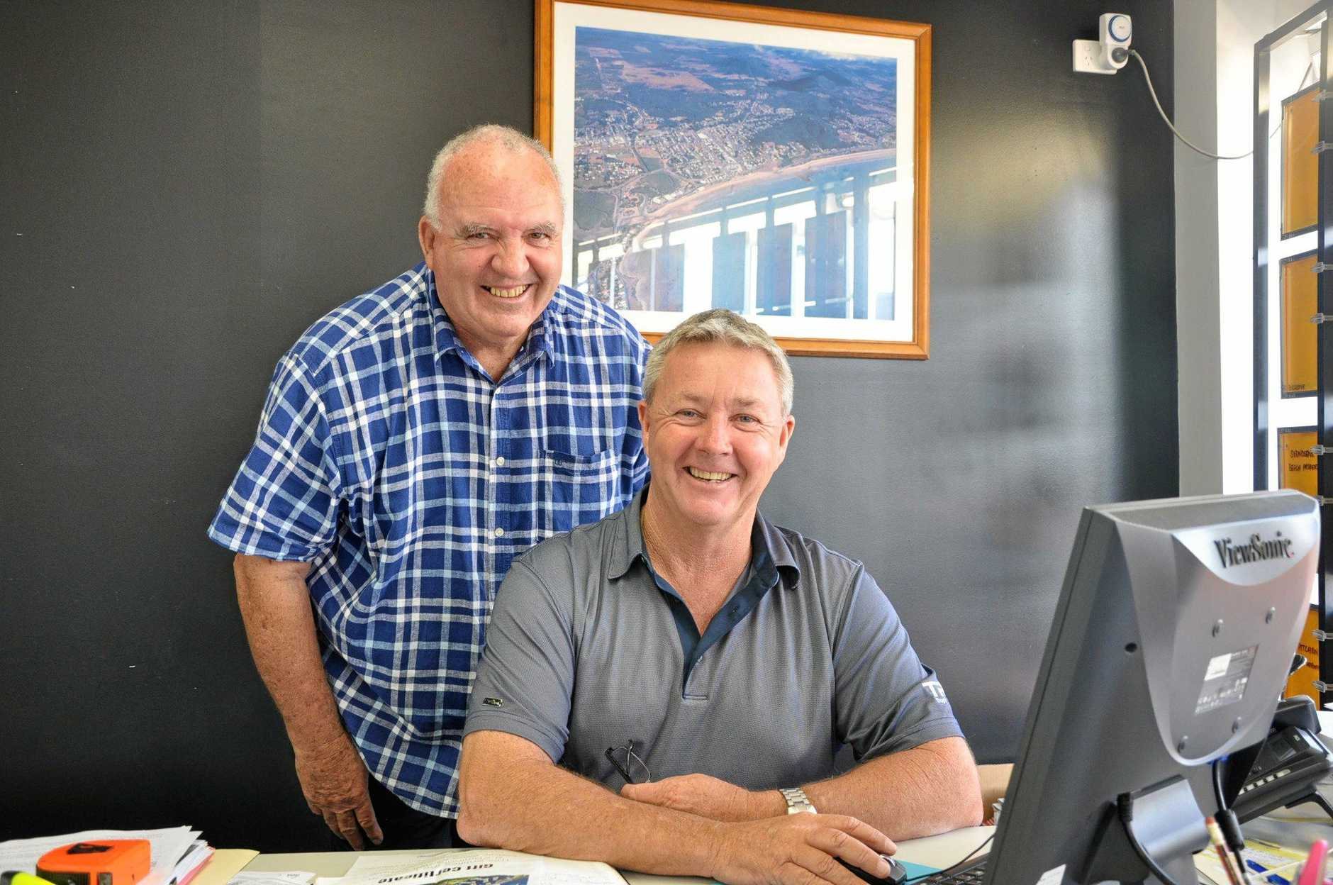 Paul Lancaster and Sean Appleton from @The Beach Real Estate can see dreams coming true at the island retreat