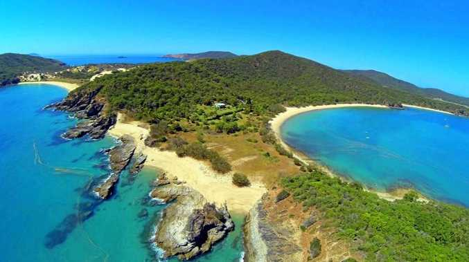 HOT PROPERTY: Lot 9 of Svendsen's Beach Great Keppel Island features a comfortable home, cottage, guest accomodation and low maintenance gardens.