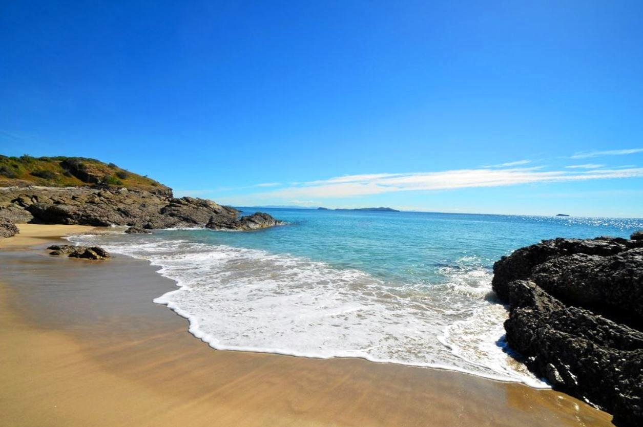 The pristine waters lapping up on Svendsen's Beach are some of the best in the nation.
