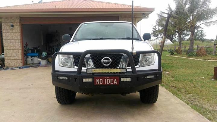 Gracemere man Chase Ferguson has slapped a $30,000 price tag on this set of personalised plates.