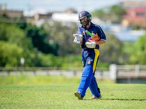 SCORER: Gympie's Danny Shepperson scored 44 to set a defensible target for the Gold XI, but Nambour made light work of the total to seize victory at Albert Park on Saturday.