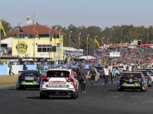Supercars' future at Queensland Raceway under a cloud