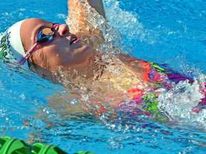 McKeown speeds to national record at state titles