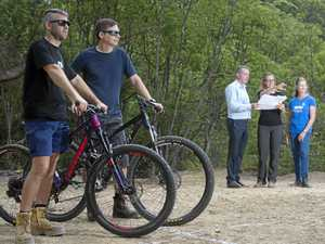 New track will give mountain bikers an adrenaline rush